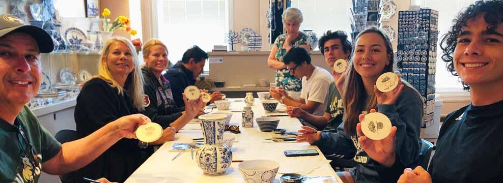 Workshop Delft Blue painting