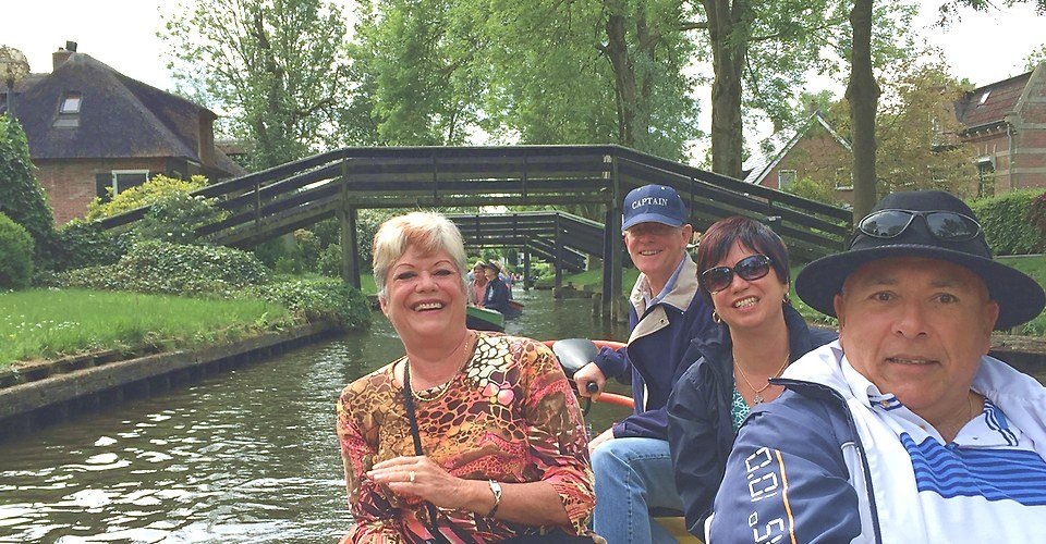 Giethoorn boat Holland Private Tour