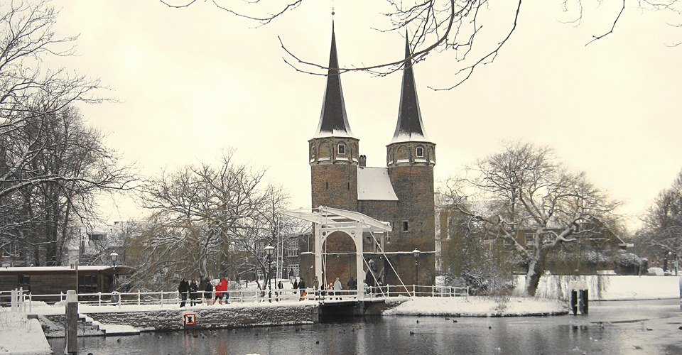 Delft Private Tour - Oosterpoort winter