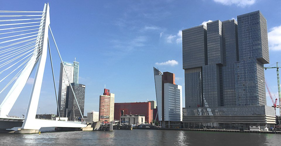 Tour Rotterdam Holland - Skyline