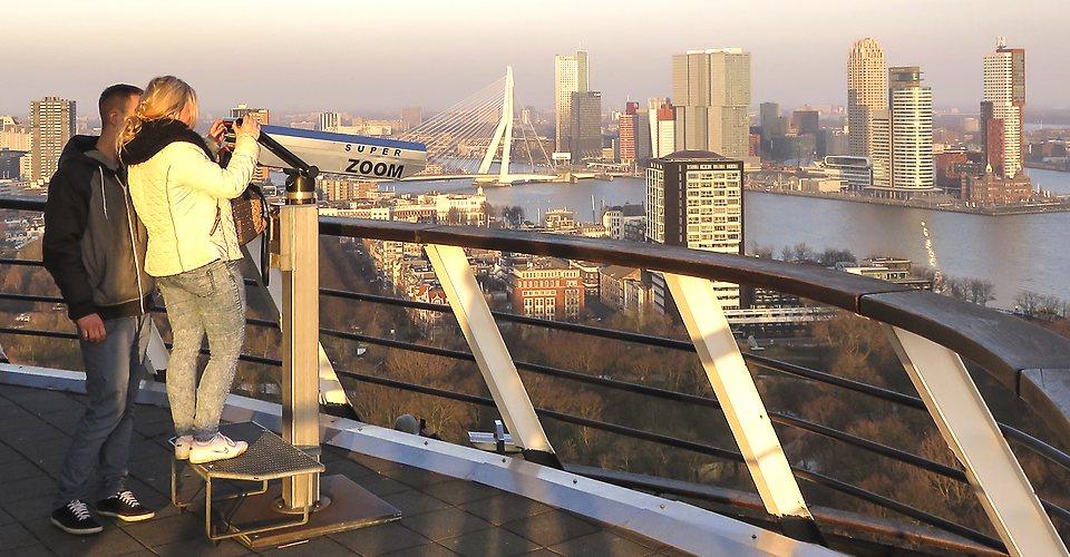 Tour Rotterdam Holland - View Euromast