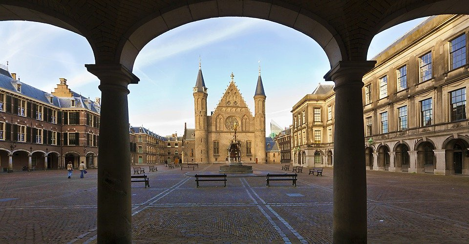 The Hague tour - Binnenhof