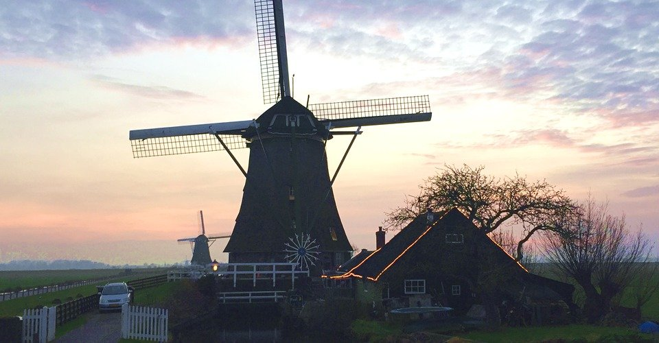 Countryside Windmill Holland Private Tour