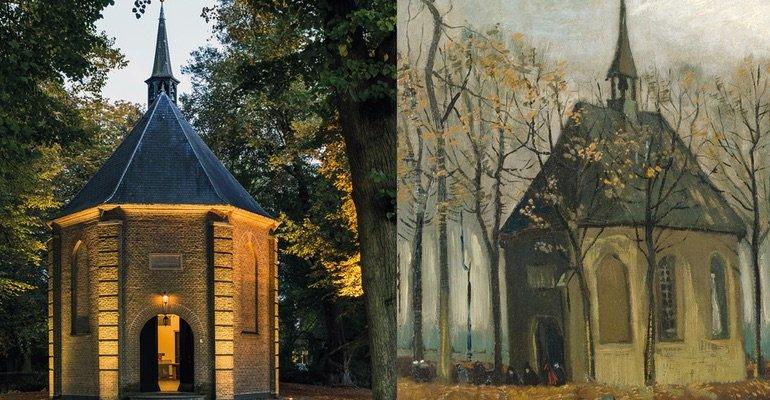 Van Gogh Tour in Brabant - fathers church Nuenen