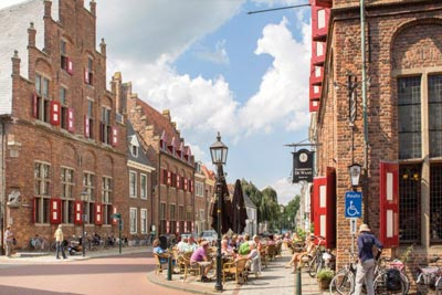 Doesburg is one of the amazing Hansa Towns