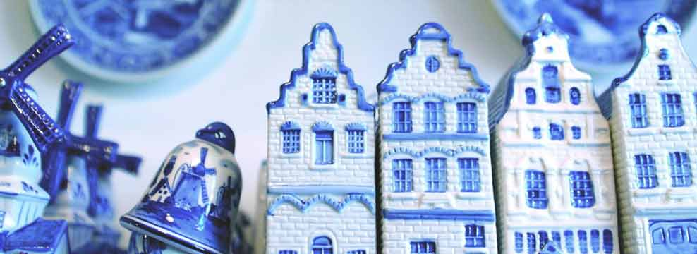 Delft Blue pottery is world famous!
