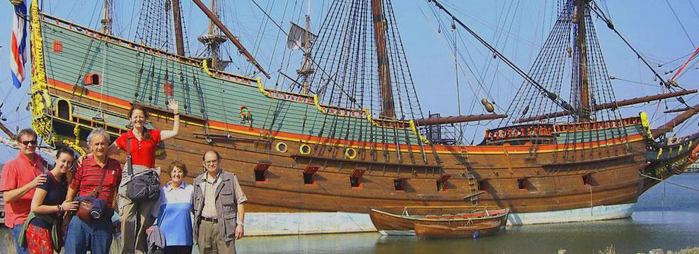 17th century Batavia ship warf - Day Trip from Amsterdam