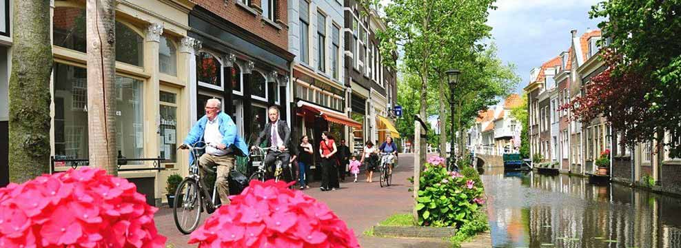 Discover the old canals, churches and history of Delft.
