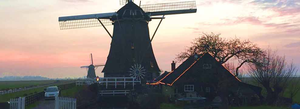 Windmill day tour from Amsterdam