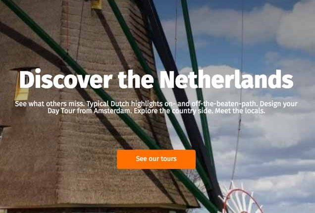 Visit Windmills with Holland Private Tour